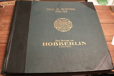 The House of Hobberlin Fall & Winter 1921-22  Very Large 54x20 CM  21x20 Inches