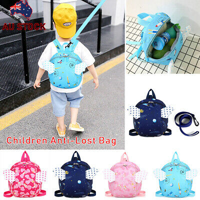 Kid Toddler Baby Safety Harness Backpack Anti-lost Leash Dinosaur Bag with Reins