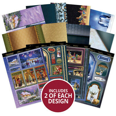 Hunkydory Christmas Reflections -  Mirri Magic Topper Collection