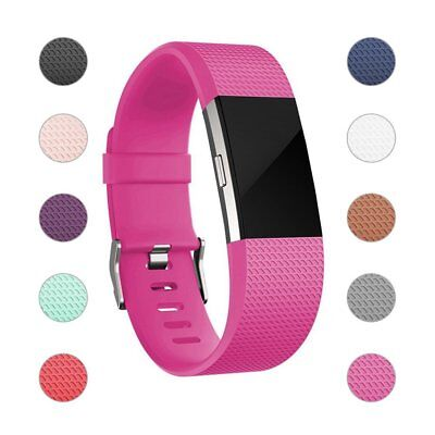 Fitbit Charge 2 Wrist Straps Wristbands Best Replacement Accessory Watch S-L NEW