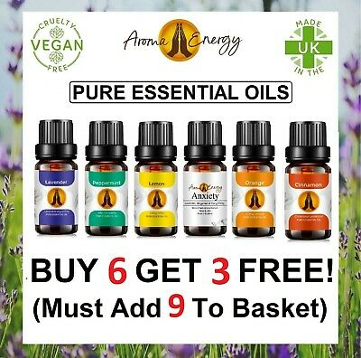 Aromatherapy Essential Oils Natural Pure Organic Essential Oil Fragrances 10ml