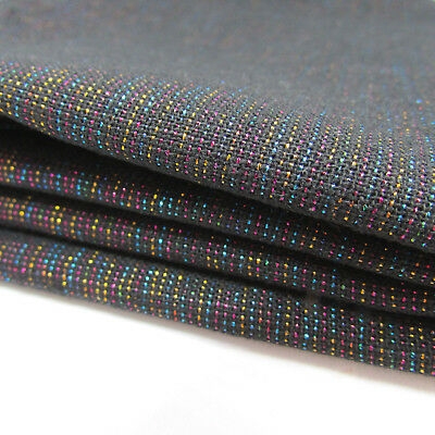 Metallic Rainbow Essex Yarn Dyed Linen by Robert Kaufman - per FQT