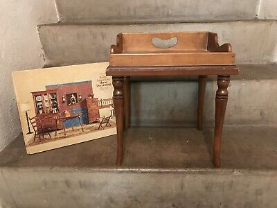 Tell City Chair Company Solid Hard Rock Maple Andover Miniature Table