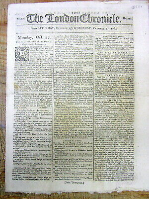 1783 newspaper United States is referred to asTHE UNITED STATES OF NORTH AMERICA