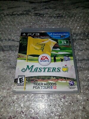 Tiger Woods PGA Tour 12: The Masters (Sony PlayStation 3, 2011) BRAND NEW!!