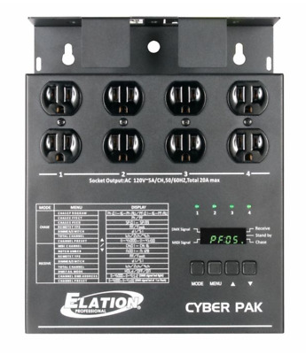 CYBER PACK 4 CHANNEL DIMMER PACK 20A w/ ETL
