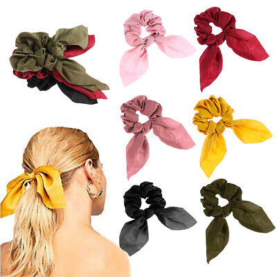 Ponytail Holder Elastic Hair Band Bow Scrunchie Hair Ropes Girls Hair Ties