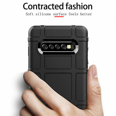 Heavy Duty Rubber Armor Case Cover for Samsung Galaxy S8 S9 S10 Plus Note 10 Pro