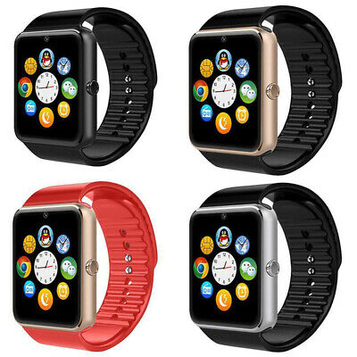 Latest GT08 Bluetooth GSM Smart Wrist Watch Camera Text Call Mic for Android iOS