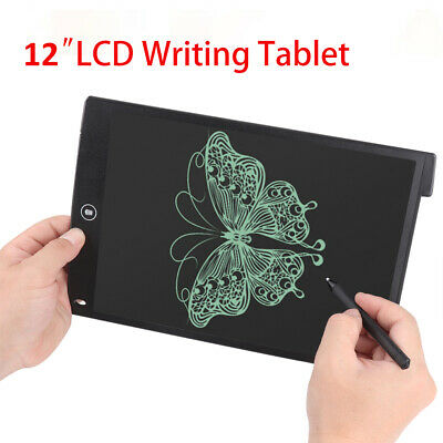 """12"""" Electronic Digital LCD Writing Pad Tablet Drawing Graphics Board for Kids"""