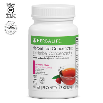 Herbalife Herbal Tea Concentrate: Raspberry 1.8 Oz.  FAST SHIPPING