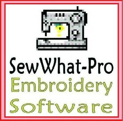 SewWhat Pro 2019 - Sew What Embroidery Software Win + Mac + GIFT ⭐Full Version⭐