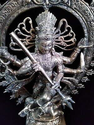 Shiva Nataraja expansion of Universe  Brass Statue yoga Meditation Huge Art siva