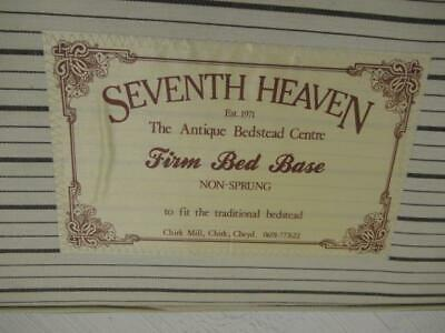 Seventh Heaven 3ft Bed Base for Antique bed