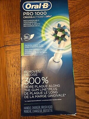 Oral-B Pro 1000 Electric Power Rechargeable Battery Toothbrush Read Description
