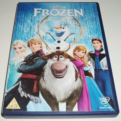 Walt Disney Classic ** FROZEN ** GOLD OVAL NUMBERED DVD (No 52) ** UK R2 **
