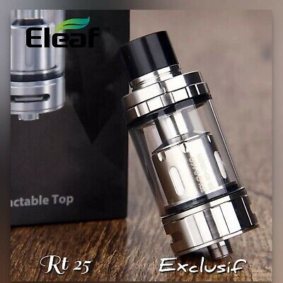 "1 Original RT 25 Melo Silver  4.5 Ml/Résistances ERL (Eleaf)""s'adapte Dolphin"""