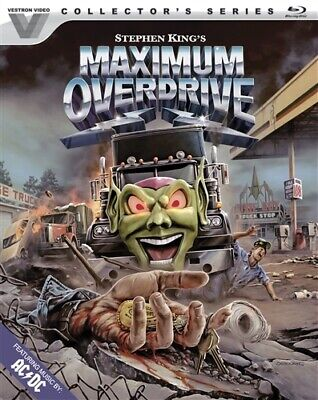 MAXIMUM OVERDRIVE New Sealed Blu-ray Vestron Video Collector's Series