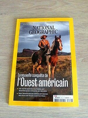 Revue  National Geographic  N° 230  Novembre  2018  /  L'ouest  Americain