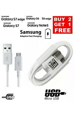 Samsung Micro USB Charger Sync Data Cable For Galaxy A3 A5 J3 (2016) S6 S7 Edge