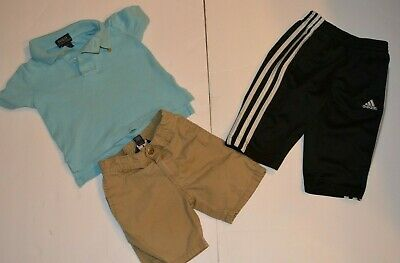 Polo Ralph Lauren Polo Shirt Tommy Hilfiger Shorts Adidas Pants Size 12 Months