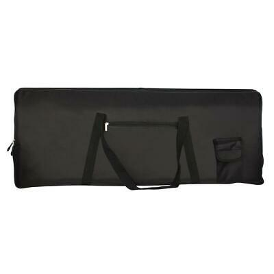 Portable 76Key Keyboard Electric Piano Padded Case Gig Bag Advanced Fabric Black