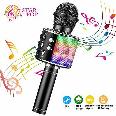 NEW BlueFire Bluetooth Handheld Wireless Karaoke Microphone with Record Function