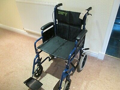 1729   Promedics Attendant Wheelchair( NO FOOT RESTS ) Used
