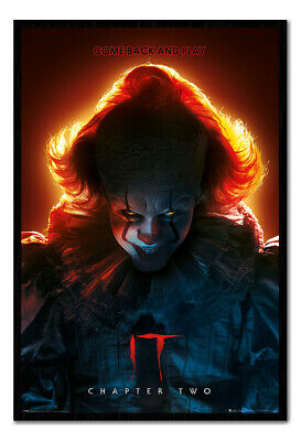 Framed IT Chapter Two Come Back And Play Poster Official