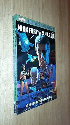 NICK FURY vs. SHIELD vol.1 e vol.2 - LE BATTAGLIE DEL SECOLO - COMPLETA - Panini