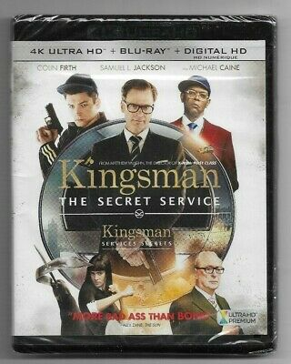 Sealed 4K Ultra HD - Blu-Ray - KINGSMAN THE SECRET SERVICE -  Also In French