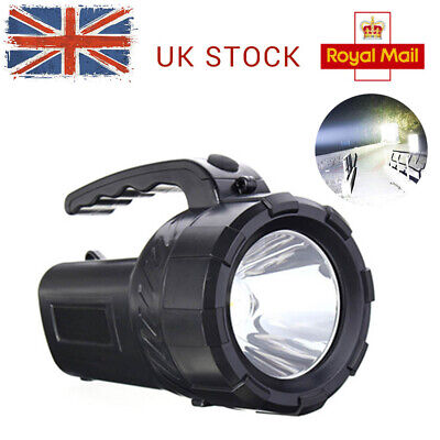 HOT LED Rechargeable Work Light Torch 1 Million Candle Power Spotlight Hand Lamp