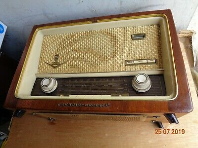 Grundig 1088 USA Tube Radio. 1950's or 1960's? Made in Germany.