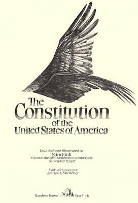 The Constitution of the United States : To Honor the Two-Hundredth...
