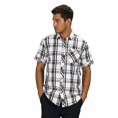 Regatta Deakin III Short Sleeve Checked Shirt