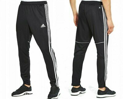 Adidas Slim Fit Tango Tapered Mens Training Pants Tracksuit Zip Bottoms Sports