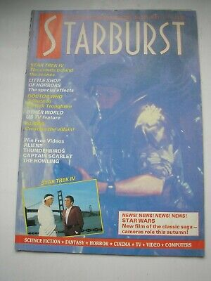 STARBURST magazine #105 May 1987