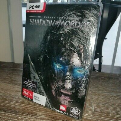 Middle Earth Shadow of Mordor - Special Edition Steelcase (Windows PC, 2014)