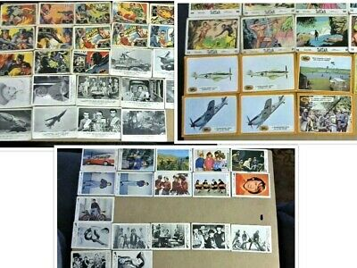 109 x A&BC Gum cards Bundle MONKEES,BATMAN,THUNDERBIRDS,TARZAN,BATTLE OF BRITAIN