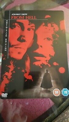 From Hell (DVD, 2007, 2-Disc Set) steelbook