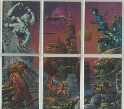 Joe Jusko's E.R. Burroughs Collection - Trading Card Metallic Storm complete set