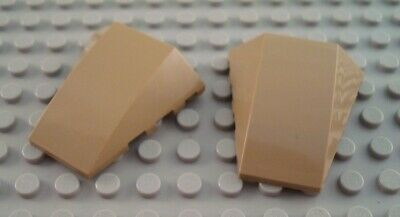 LEGO Star Wars Lot of 4 Translucent Black 6x4x2 Curved Wedge Windscreen Pieces