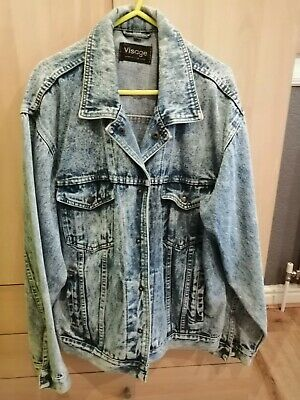 Men's Denim Jacket Very old and worn looking but no wear or tear and very clean.