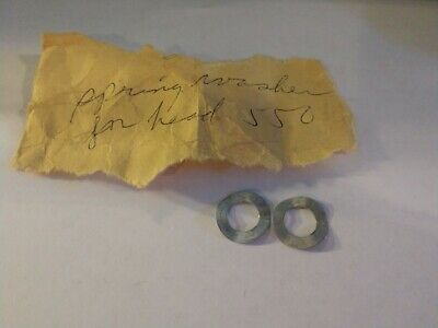 2 NOS D.A.M QUICK 238 FISHING REEL Plastic Washers 238-50