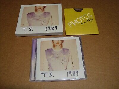 Taylor Swift - 1989 (CD, 2014, Big Machine Records) Ships 1st Class Mail!