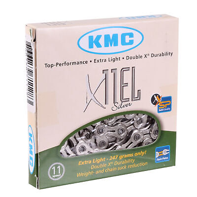 KMC X11EL Extra Light 11sp Chain, Silver