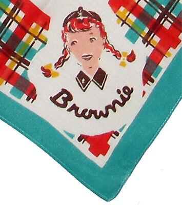 Brownie Girl Scout SELF-MAILER Display Collector Stationary GIFT COLLECTOR