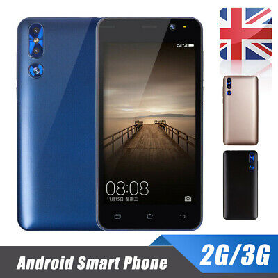 Android 6.0 Smart Mobile Phone Cheap Unlocked Quad Core Dual SIM WiFi GPS 2G/3G