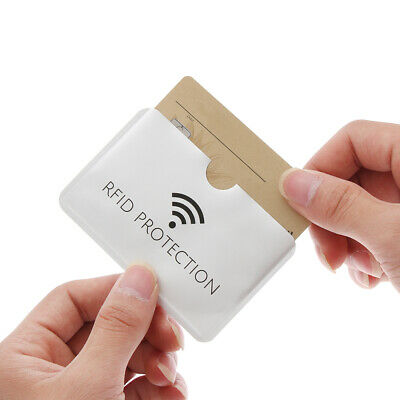 Reader Credit Cards Covers Card Case Anti-theft ID Card Holder Anti Rfid