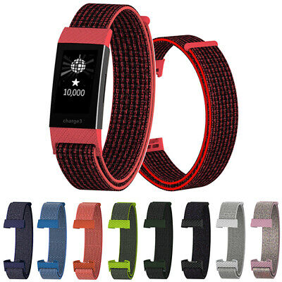 Wristband Breathable Wrist Strap Nylon Fiber Band For Fitbit Charge 3